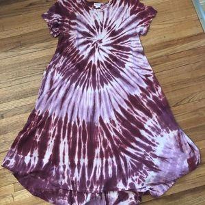 Lularoe tie-dye Carly dress!